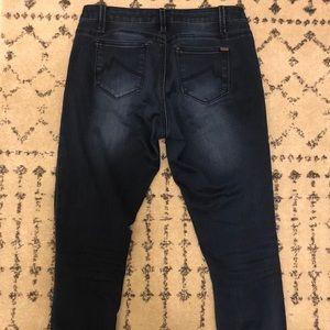 [Max Jeans] Dark Wash Skinny Jeans